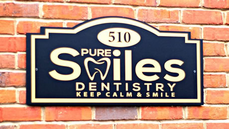Pure Smiles Dentistry office building